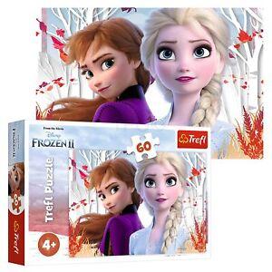Trefl 60 Piece Kids Large Disney Frozen 2 Enchanted World Of Anna Jigsaw Puzzle