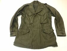 Vintage Original WW2 US Army M43 M-1943 Field Jacket Size 38