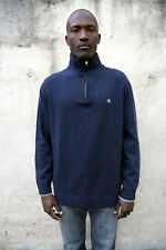 Armata di Mare Made in Italy Wool Nylon Sweater Jumper Knit High Neck XXL Slim