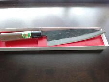 Japanisches Profi Kochmesser Santoku (Klinge:180mm)Blaustahl-1(Aogami-1)