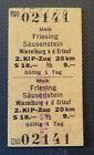 Eisenbahn Fahrkarte  1978  Melk - Wieselburg an der Erlauf
