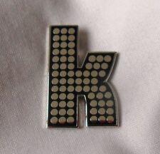 ***Brand New*** The Killers 'K' enamel badge. Battleborn.