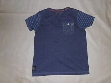 Next Denim Blue T-Shirt Age 7 Years