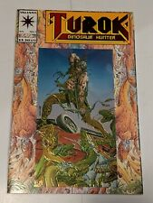 Turok Dinosaur Hunter #1 July 1993 Valiant Comics Chromium Edition Embossed