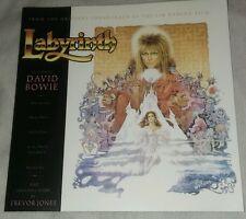 DAVID BOWIE LABYRINTH SOUNDTRACK OST CD EMI 1986 OOP RARE JIM HENSON