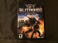 BLITZKRIEG Attack is the Only Defense PC Excellent Condition Complete