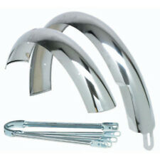 "Wald Balloon 962-26"" Chrome Fender Set"