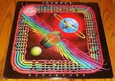 JOURNEY DEPARTURE  LP STILL SEALED WITH HYPE STICKER!   ROCK & ROLL!