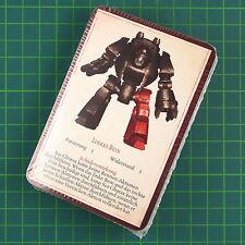 42 Kommando- und Referenzkarten Set Horus Heresy Betrayal at Calth Bitz 4689