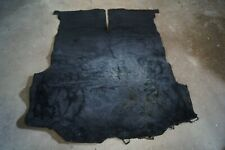 1980 Toyota Celica Liftback GT - TRUNK CARPET FLOOR MAT BLACK OEM