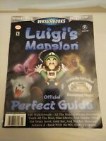 Luigi's Mansion Official Perfect Guide, Gamecube, no poster Nintendo Power