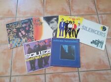 LOT DE 6 33T PUNK ET NEW WAVE