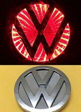3D LED Car Tail Logo Red Light for Volkswagen VW CC Bora Golf Auto Badge Light