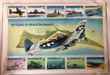 Kiribati #611,612 2 Sheets of 10 1993 MNH