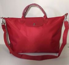 Longchamp Le Pliage Neo Large Red Hobo Handbag 1630