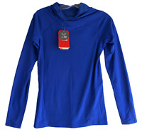 The North Face Active Top S Blue Womens North Dome UPF 50 Hoodie Hike Run New