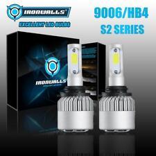 IRONWALLS 1500W 225000LM 9006 HB4 LED Headlight Low Beam Bulbs Kit 6000K White