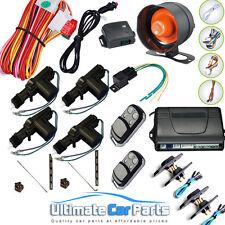 Control Remoto De Bloqueo Central Kit y van de alarma con immobiliser Para 4 Puertas 2 Correderas