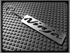 Keyring for KAWASAKI ZXR NINJA - Stainless Steel, Hand Made, Key Chain Loop Fob