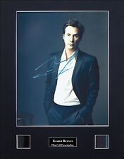 Keanu Reeves Ver3 Signed Film Cell Presentation