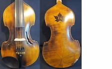 Baroque style SONG Master inlay maple leaf 5strings violin 4/4 #11890