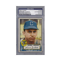 Howie Judson Signed 1952 Topps - PSA DNA