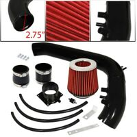 For 02-05 Lancer ES//LS//OZ Rally 2.0L MT Cold Air Intake Black Air Filter Red
