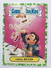 Garbage Pail Kids Prime Slime Trashy Sci-Fi TV Sticker 6b Cruel Kevin Green Puke