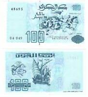 ALGERIA 100 DINARS 1992 P-137 UNC - Banknotes Paper Money