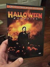 Halloween Megadisk DVD Compilation Michael Myers slasher John Carpenter