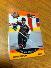 PRO SET HOCKEY 1990 WAYNE GRETZKY ALL STAR GAME CARD # 340 LOS ANGELES KINGS