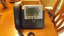 Lot of 6 Cisco VoIP Phones 7940 Series CP-7940G,Ready for Asterick,With Warranty
