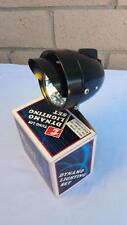 New Black Bicycle Bullet Head Light W Vizor & Mounting Braket Beach Cruiser