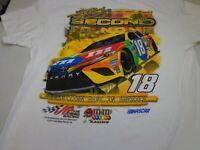 Kyle Busch #18 Nascar  Joe Gibbs Racing Team M&M's T-Shirt -Large   NEW