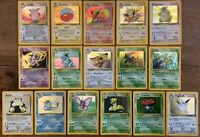 Pokemon Jungle Rare Holo cards, Flareon, Scyther, Snorlax - you Choose - Nr Mint
