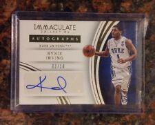 Kyrie Irving 2016 Immaculate Autograph /10 RARE Duke Blue Devils Auto Celtics