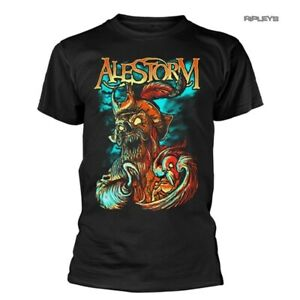 Official T Shirt ALESTORM Pirate Metal 'Get Drunk Or Die!' Small LAST ONE