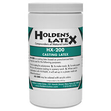 HX-200 LIQUID MASK MAKING AND CASTING LATEX RUBBER 1 QUART SIZE