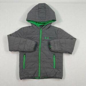 Under Armour Toddler Boys Trekker Hooded Jacket - Size 7T MSRP$75.00