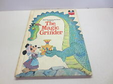 The Magic Grinder Walt Disney Productions hardcover for children