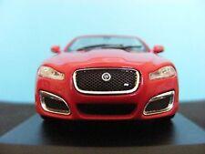 Jaguar XFR 2010 Red 1 of 1000 1/43 Scale Diecast Model Whitebox