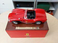 Bburago Burago Ferrari 250 Testarossa auf Holz Sondermodell Club Helvetia 1988