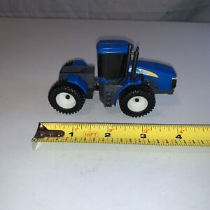 """New Holland Blue Ertl Tractor 4"""" Die cast Collectible"""