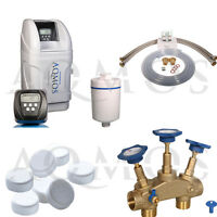 Antikalkanlage Wasserenthärter Entkalkungsanlage Aqmos CM-32 Enthärter Kalk