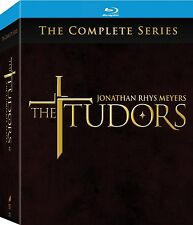 The Tudors: Complete Series - Seasons 1 2 3 4 [Blu-ray Box Set, Region Free] NEW