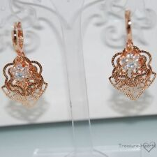 Flowers & Plants Crystal Fashion Earrings