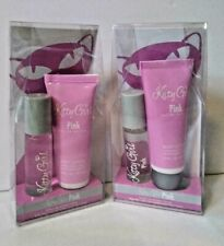 2 Kitty Girl Pink Perfume And Body Lotion Gift Sets by Preferred Fragrance