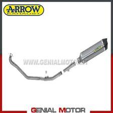 Komplett Auspuff Arrow Race tech AK Aluminium Honda Nc 700 S 2012 > 2014