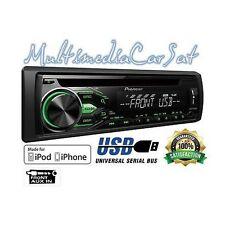 Pioneer DEH-1800UBG Autoradio USB AUX IN Tasti Verdi RCA Italia 48 Ore NUOVA