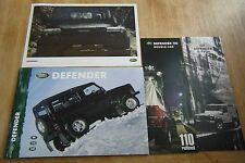 Land Rover Defender Range Brochure Pack 2000 - Almost unique collection